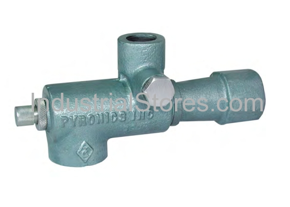 """Pyronics 2332-16-MF-T, 1-1/2"""" Gas Inlet NPT Mixer with Pressure Taps"""