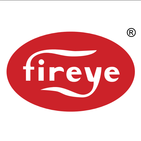 Fireye 35-128 1 NPT flange painted grey