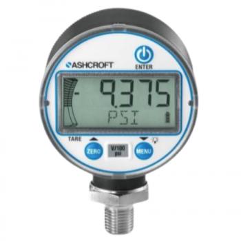 """Ashcroft 50MM1008S02L30 Pressure Gauge 50MM 1/4"""" BTM 0-30 PSI"""
