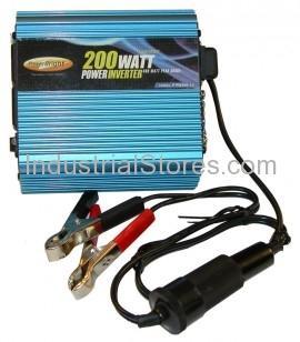 AEMC 2135.43 12V DC to 120V AC 200 Watt Inverter