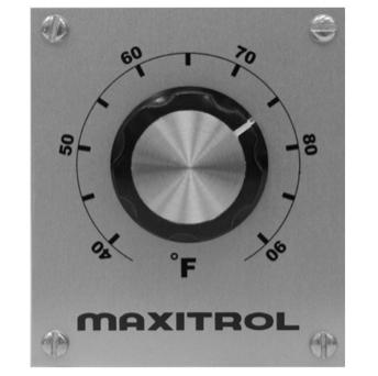 Maxitrol TD114D Remote Temperature Selector