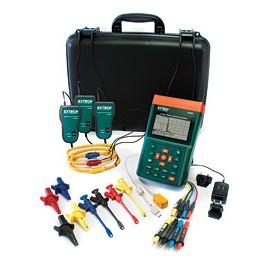 Extech PQ3350-1-NIST 3-Phase Power & Harmonics Analyzer with NIST Traceable Certificate