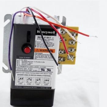 Honeywell R8184P4017 Protectorelay Oil Primary Controls
