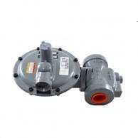 """Actaris B34SR-1 1/4 Gas Regulator 1.25"""" with Internal Pressure Relief Valve 5/8"""" x 3/4"""" Orifice 6-9"""" W.C."""