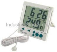 Thermor 119 Thermometer Digital C Indoor/Outdoor W/Clock