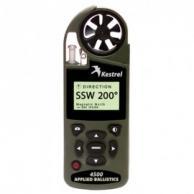 Kestrel 0845AOLV Series 4500 Pocket Weather Tracker with True Heading & Applied Ballistics