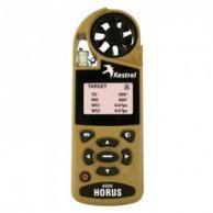 Kestrel 0845HTAN Series 4500H Pocket Weather Tracker with True Heading & HORUS