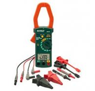 Extech 380976-K-NIST Single/3-Phase Power Clamp Meter Kit with NIST Traceable Certificate, 1000A AC