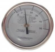 """Baker T3112MSSP Maple Syrup Stem Thermometer 3"""" Dial 12"""" Stem"""
