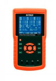 Extech PQ3450 3-Phase Power Analyzer/Datalogger, 1200A