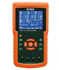 Extech PQ3450-2 3-Phase Power Analyzer/Datalogger Kit, 200A