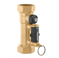 "Caleffi 132552A Balancing Valve with Flowmeter 3/4"" NPT 2.0-7.0 GPM Flow Scale"