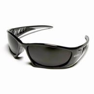 Edge 90633 Baretti Safety Glasses Black/Silver Mirror