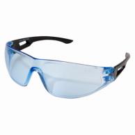 Edge AB113 Kirova Safety Glasses Black Frame Light Blue Lens