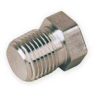 "Fittings F10105 Pipe Plug 1/4"" (Pack of 100)"