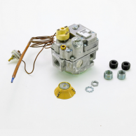 """Robertshaw 700-202 Snap-Throttle Hydraulic Combination Gas Valve 1/2"""" Natural Gas 36"""" Capillary 58F to 90F"""