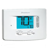 Braeburn 1220 Non-Programmable Thermostat 2H/2C