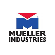 "Mueller Industries 100-005NL Lead Free Gate Valve 1"""