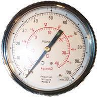 "Siemens Building Technology 142-0229 Gauge 3.5"" Dial 0-100F 1/4"" Barbed"